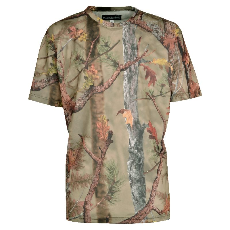 Tee shirt percussion ghostcamo forest chasseur compagnie