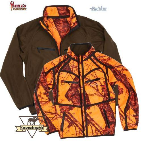 Veste  Hells Canyon Pro Reversible Browning