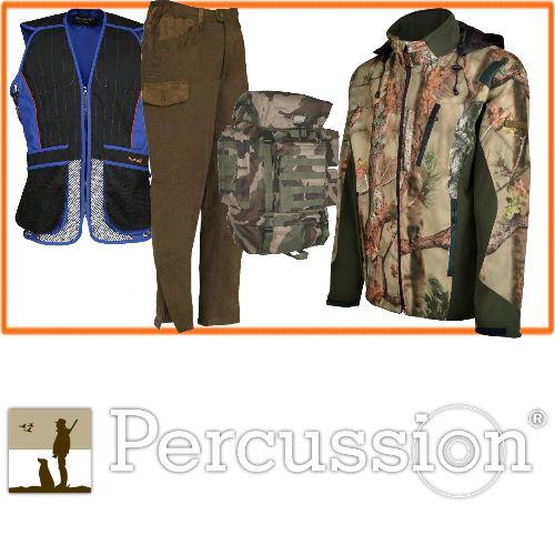 Vetement de chasse percussion