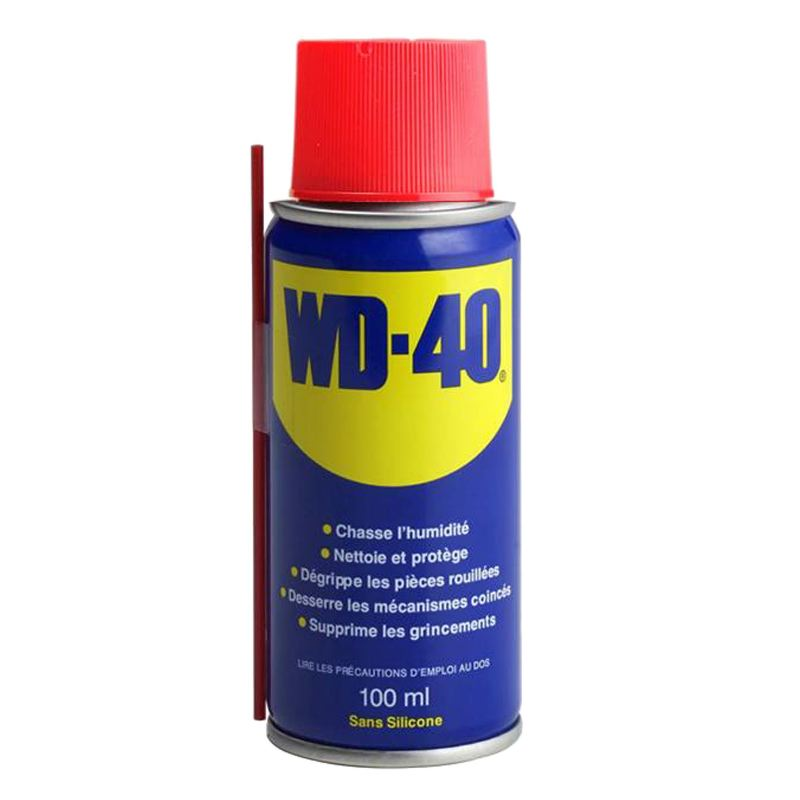 Wd40 en spray ae rosol bombe 100 ml pour me tal anti humidite