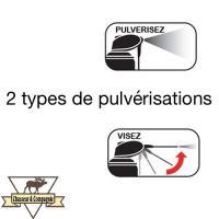 2 types de spray avec le wd40 en bombe
