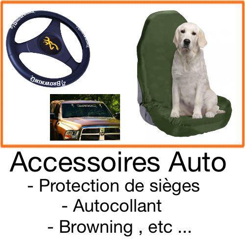 Accessoires voiture chasseur et chien