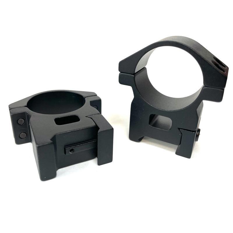 Anneaux lunette 30 mm shilba solide haut en aluminium t6n