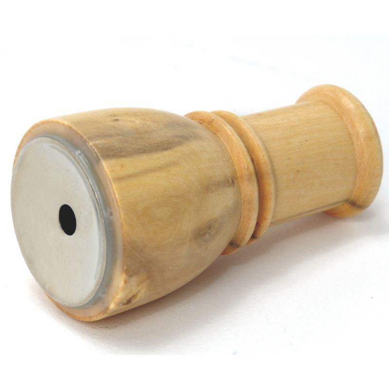 Appeau canard siffleur en bois clair helen baud pour chasse
