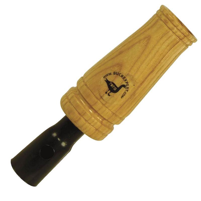 Appeau oie a bec court en bois buck expert pour chasseurs 1