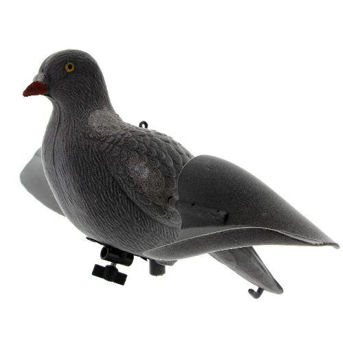 Appelant de pigeon a aile tournante automatique avec vent chasseur et compagnie