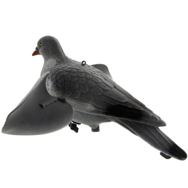 Appelant de pigeon a aile tournante automatique avec vent