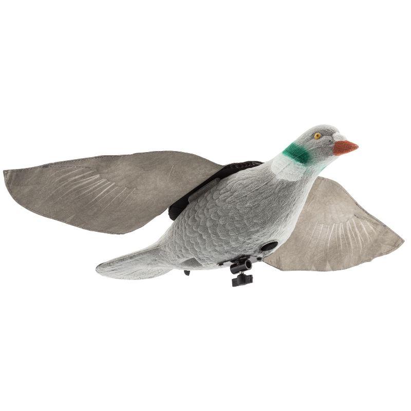 Appelant de pigeon a ailes battantes avec le vent pas cher