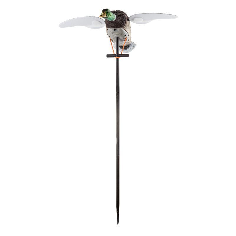 Appelant electrique canard colvert ailes tournantes rotative1