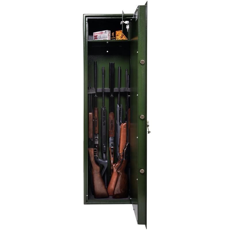 Armoire forte fusil et carabine coffre waldberg 10 armes1