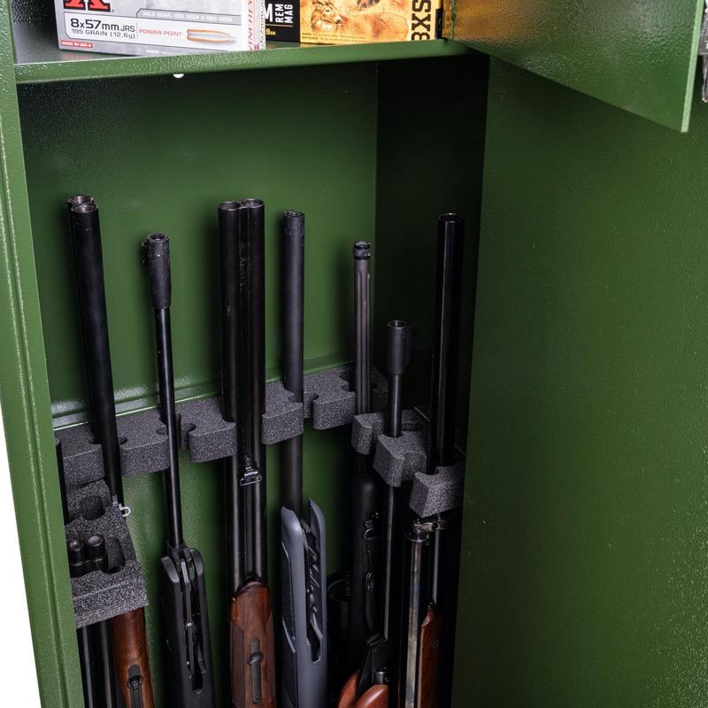 Armoire forte fusil et carabine coffre waldberg 10 armes2