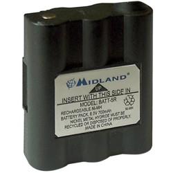 Batterie de remplacement pour talkie walkie midland g7