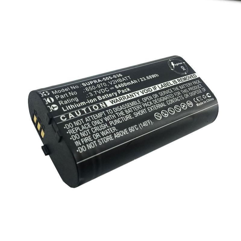 Batterie grande capacite central sportdog tek 2 0 6400mah