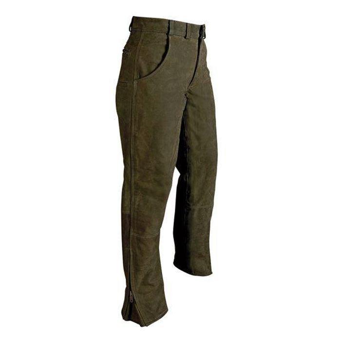Beau pantalon fuseau en cuir verney carron titan pour chasse