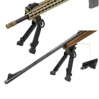 Bipied 22 cm utg rail de montage rapide picatinny grenadie re1