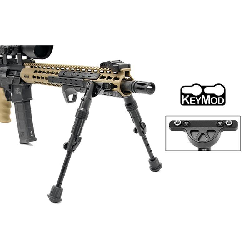 Bipied carabine compatible keymod pour ar15 et autres armes1