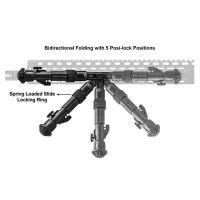 Bipied carabine compatible keymod pour ar15 et autres armes2