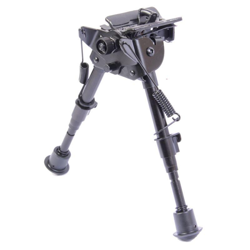 Bipied hauteur 22 a 33 cm pour fusil et carabine de chasse