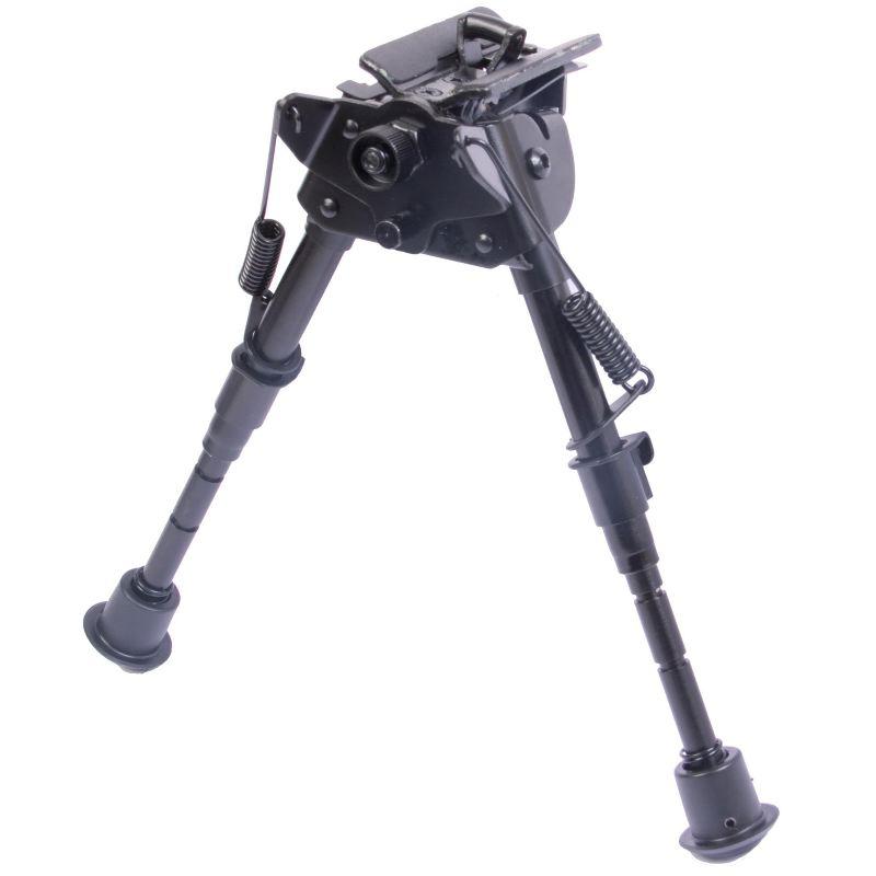 Bipied pour fusil et carabine bas 15 16 17 18 19 20 21 22 cm