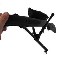 Bipied repliable pour carabine air comprime 4 5 5 6