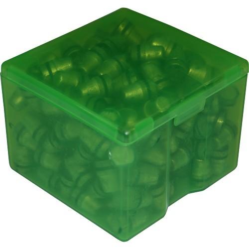 Boite a balles plastique verte mtm fabrique au usa pas cher chasseur et commagnie