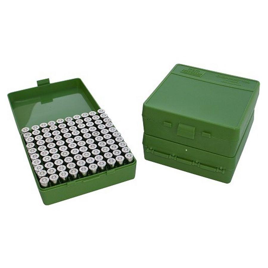 Boite a munition 45 acp 10 mm 40 s w 41 ae pour chasseur vert