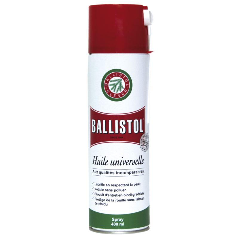 Bombe d huile pour lubrifier proteger ballistol klever 400ml 1