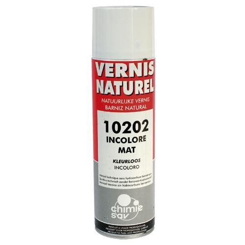 Bombe de vernis bois naturel mat