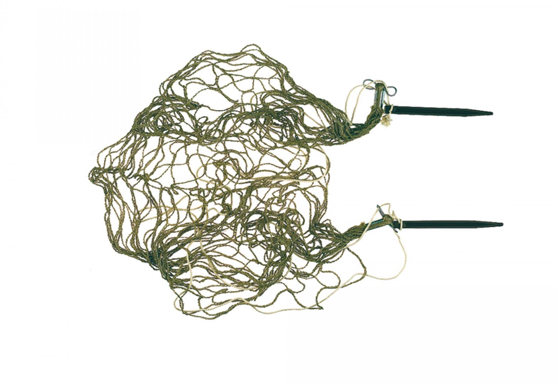 Bourses a lapin en chanvre havane longueur 1 20 m 2 piquets