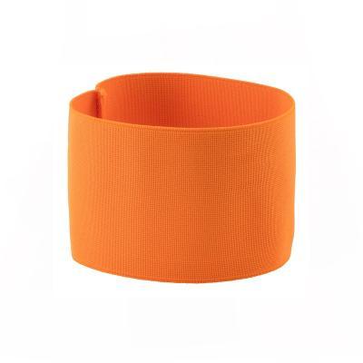 Brassard de chasse orange fluo