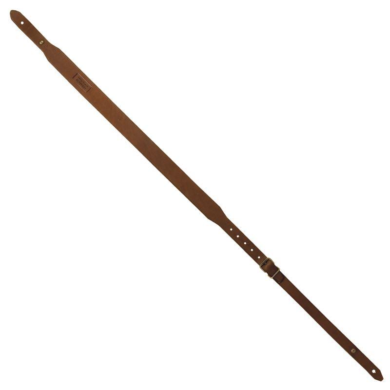 Bretelle carabine en cuir gras de la marque coutry sellerie