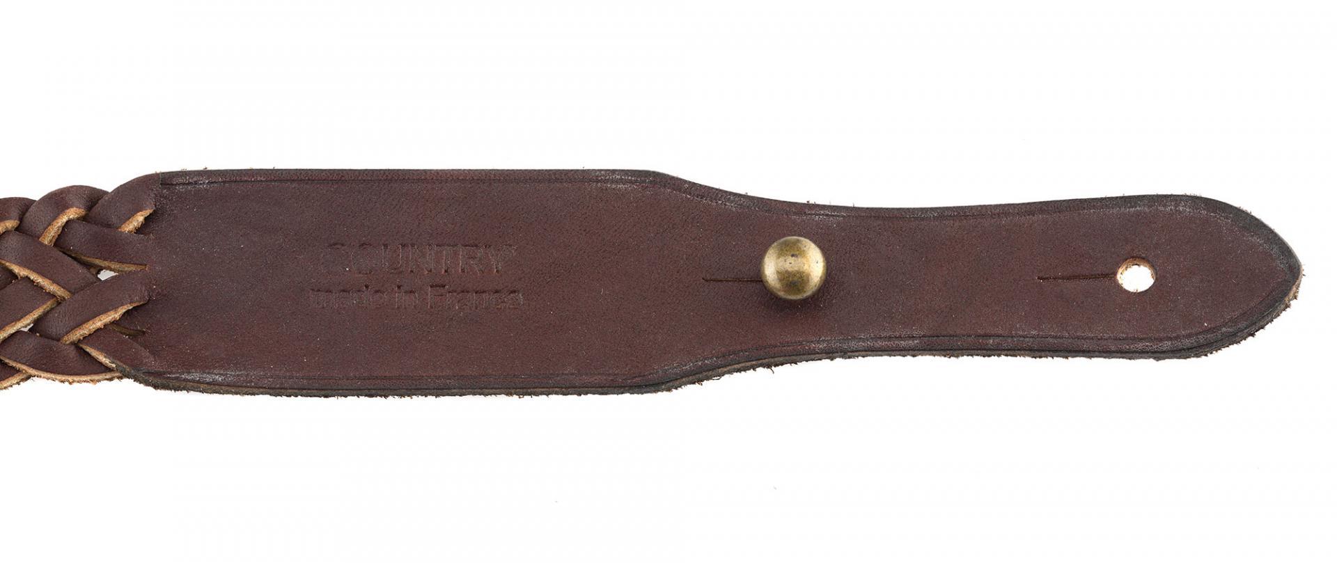 Bretelle de chasse pour fusil de la marque coutry sellerie 1