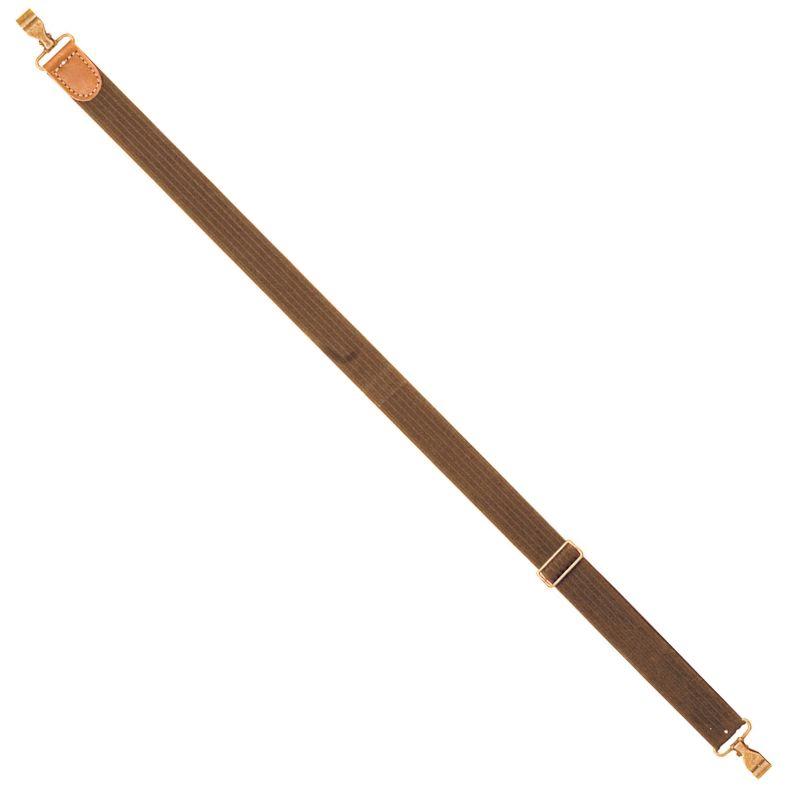 Bretelle elastiss de chasse coutry sellerie de luxe marron