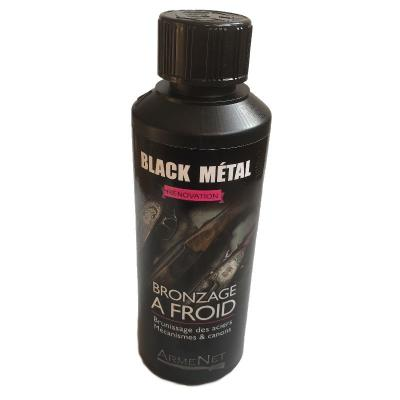 Bronzage à froid Black Métal