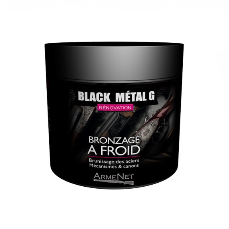 Bronzage a froid en gel 250ml armenet black metalg pour arme
