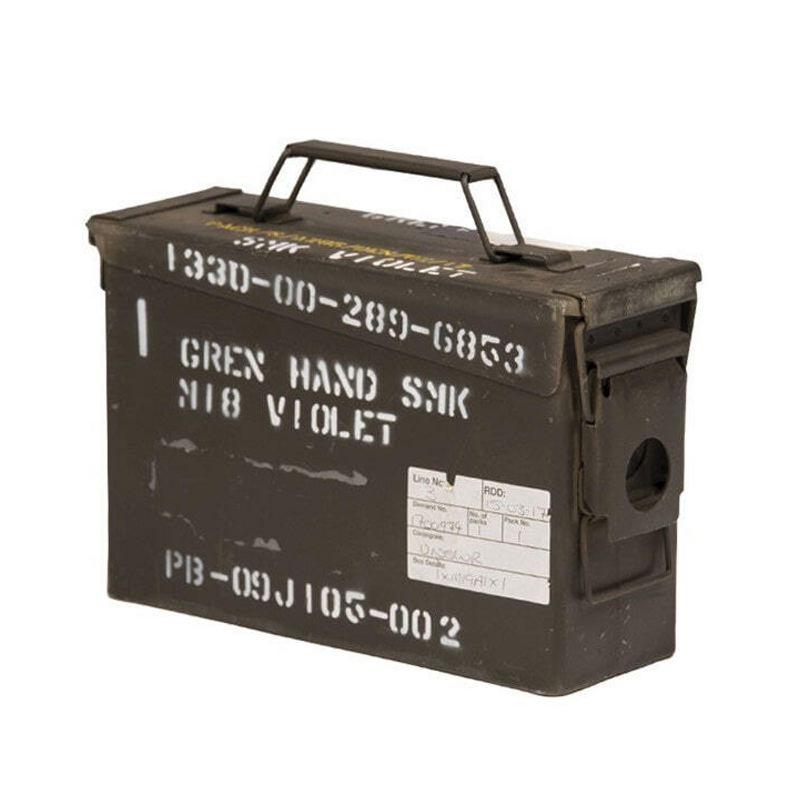 Caisse a munition calibre 30 7 62 surplus ame ricain