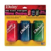 Cible 3 canettes 3D Daisy