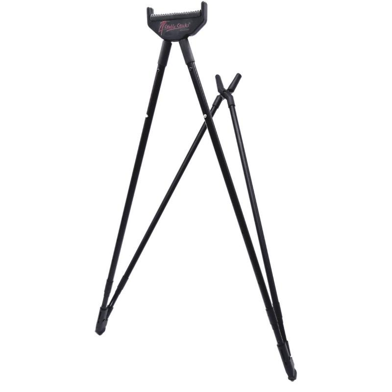 Canne pirsch assis et a genou sit stick 4 stable stick chasse et stand de tir