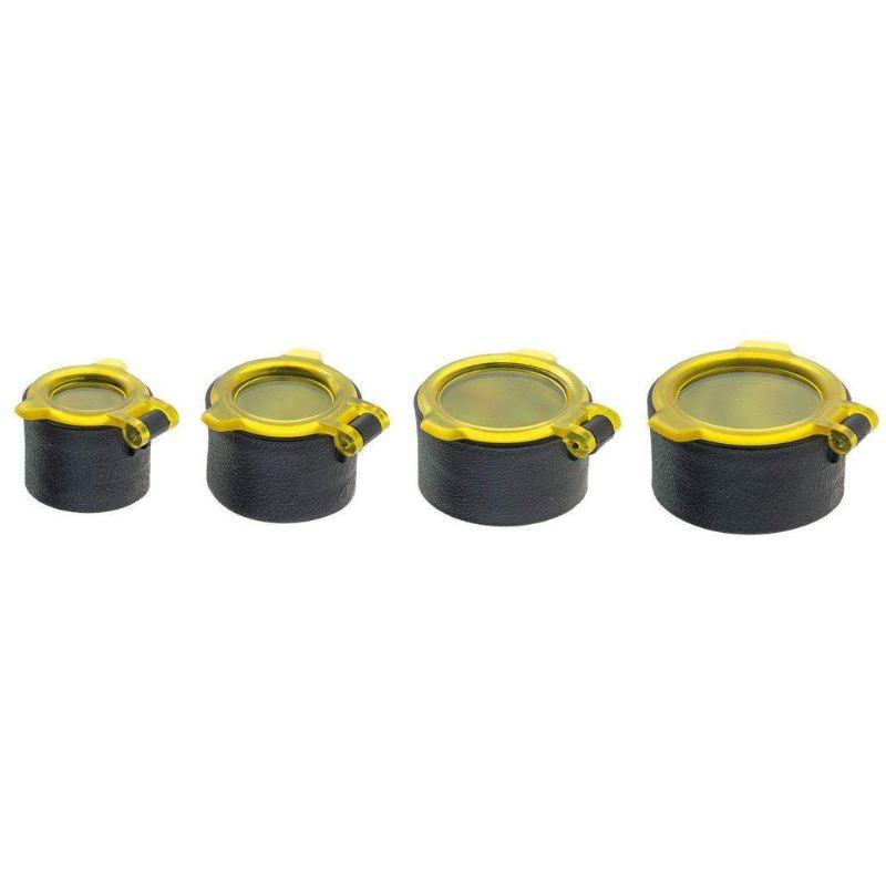 Capuchon optique lunette et jumelles jaune quake industries