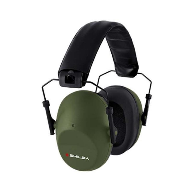 Casque anti bruit kaki 23 db pour les chasseurs et tireurs