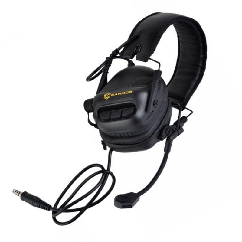 Casque e lectronique earmor m32nrr22 avec micro communication