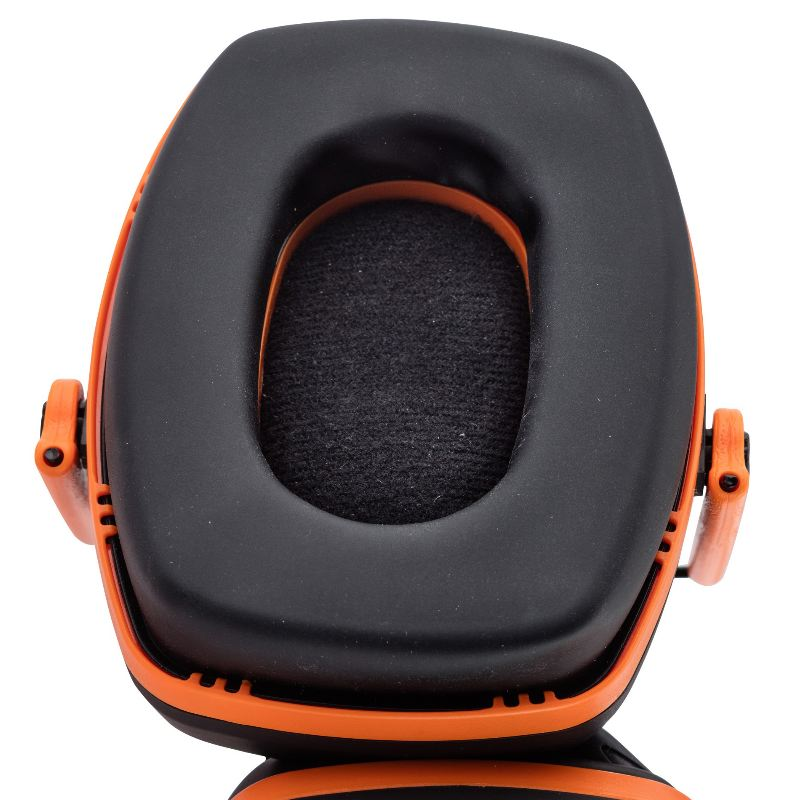 Casque e lectronique spika fin pour rame a feu noir et orange4