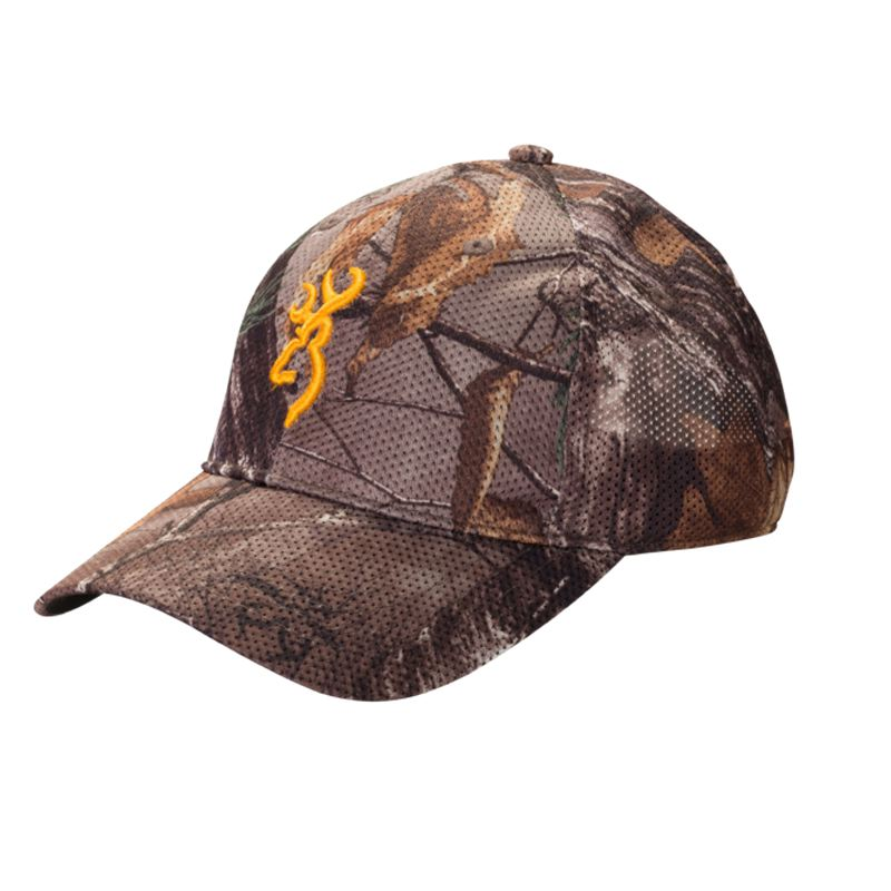 Casquette browning mesh lite camouflage rtx roseaux