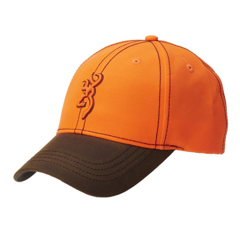 Casquette browning opening day blaze orange et brun marron