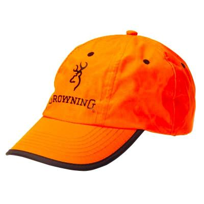 Casquette Browning Orange Fluo