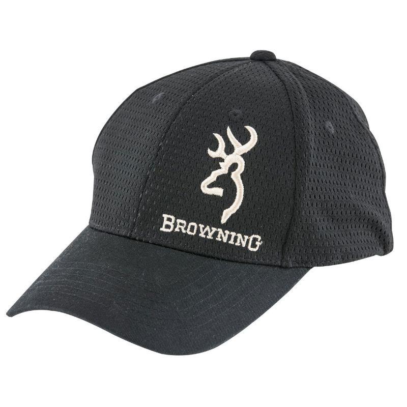 Casquette browning phoenix noire avec logo le ge re pour e te