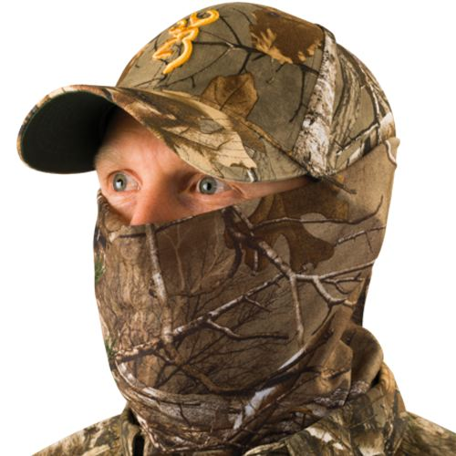 Casquette browning quick cover xtra multi positions type balaclava