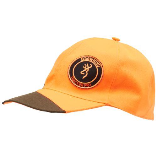 Casquette browning tracker pro verte orange pour chasseur1