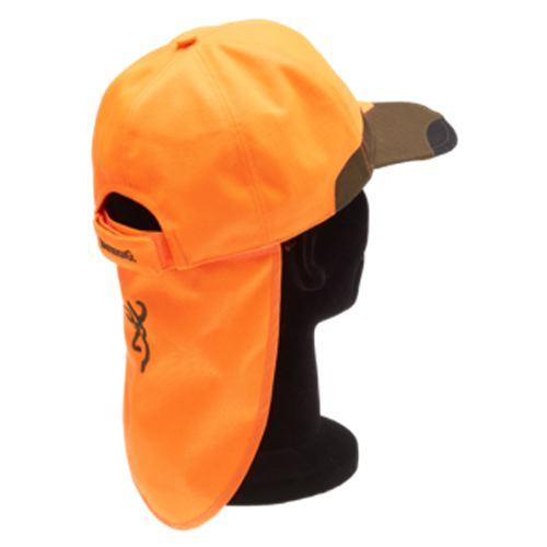 Casquette browning tracker pro verte orange pour chasseur2