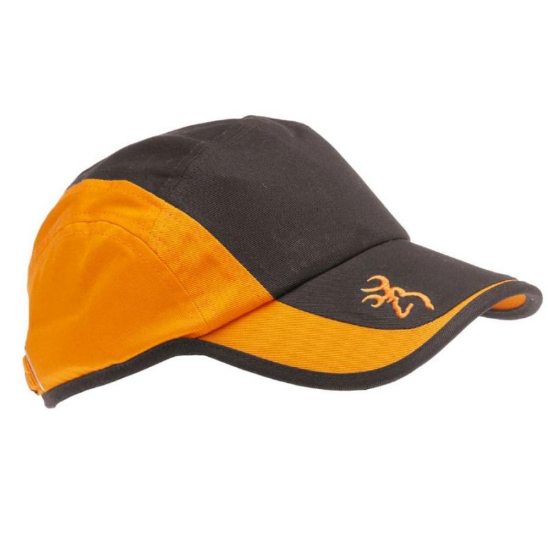 Casquette Bowning Ultra Anthracite / Orange